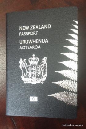 NZ passport