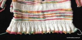 ripple knitting cardigan