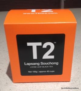 T2 tea lapsang souchong
