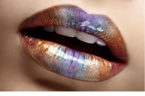 lipstick purple brown
