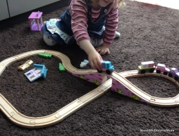 Toy Trains Girl