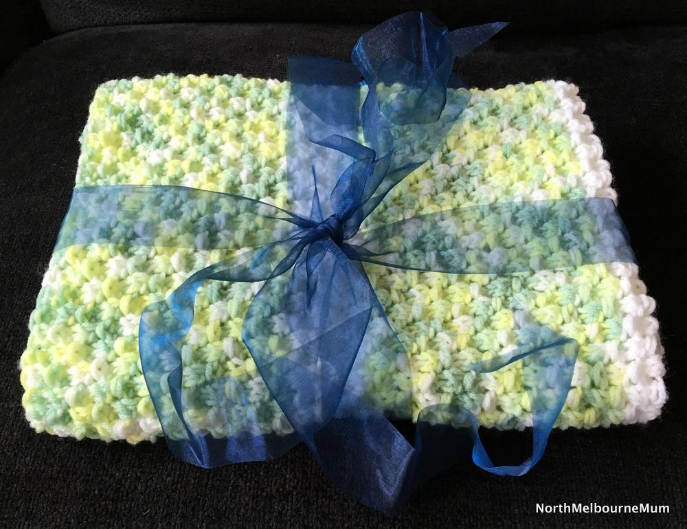 baby blanket present
