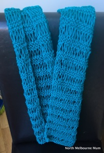 garter drop stitch scarf north melbourne