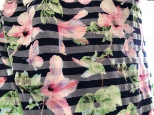 flowers on a dress