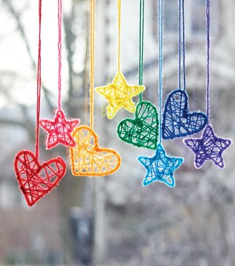 dream catcher hearts and stars